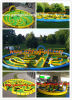 Hot Sale (MIC-936)에 형식 Game Inflatable Mini Golf
