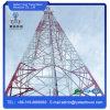 Auto de aço galvanizado da antena de rádio do ângulo - torre de comunicação de apoio