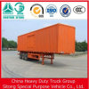 Sale를 위한 Sinotruck Trailer 3 Axle 밴 Semi Trailer Box Trailer