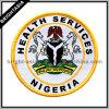 軍服(BYH-10316)のためのナイジェリアの紋章によって編まれるラベル