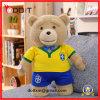 Fato de futebol Brinquedo de pelúcia de urso brinquedo de peluaria personalizado
