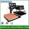 Machine automatique de presse de la chaleur de T-shirt de stations de double
