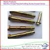 Hex Flansch-Stahlmutter oder Hexagon-Schrauben-Hülsen-Anker