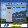 EV accionado solar rápidamente que carga la estación