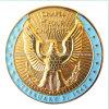 Монетка покрынная золотом