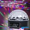 LED Lighting 6 Colors 6X3w LED Crystal Magic Ball (QC-LE059)