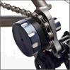 Las cadenas de la bicicleta cambian las cadenas impulsoras 408 de montaña del rodillo con varias velocidades de la bici