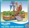 신식 해적선 위락 공원 장비 (QL-C036)