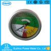 constructeur isométrique de mesure d'acier inoxydable de 2.5inch63mm avec de l'huile de silicone
