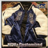 Изготовленный на заказ куртка бомбардировщика, горячая куртка бейсбола бомбардировщика сбывания, куртка бейсбола с Embriodery