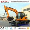Excavador de la rueda, excavador de rueda de compartimiento de 12t 0.45cbm para la venta