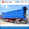 Sale를 위한 3개의 차축 Tipper Dump Semi Trailer/Lifting Cylinder 3 Axle Dump Trailer