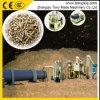 生物量エネルギーバガスのタケ餌ライン