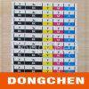 De Sticker van het Etiket van de Gids van de Kleur van het Etiket van de Aanwijzing van de kleur (gelijkstroom-LAB026)