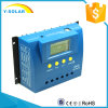 60A 24V/12V 24h LCD Display+ Dual o regulador solar G60 do USB