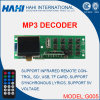 Placa audio do decodificador do bluetooth MP3 da venda quente (G005)