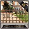 Cerca de aluminio del listón del chalet del polvo del metal al aire libre decorativo revestido del jardín