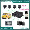Hybride H 264 Ahd kabeltelevisie 4CH Mobiele DVR met Levende GPS van WiFi van de Mening 3/4G g-Sensor