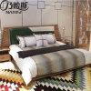 Кровать самомоднейшей конструкции с кожаный крышкой для мебели CH-601 спальни