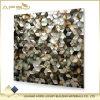 Строительные материалы кухня и мать косоугольника Backsplash ванной комнаты черная плиток мозаики раковины перлы для украшения стены