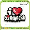 Personalizzato con il ricordo permanente Singapore (RC-SG) dei magneti del frigorifero di disegno del fumetto