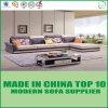 Mobilia moderna del sofà dell'angolo del tessuto del salone