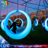 Waterdichte PE Plastic LEIDENE OpenluchtSchommeling/Cirkel Gloeiende Hangmatten
