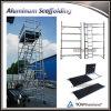Ventes mobiles en aluminium d'échafaudage de la Chine