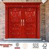 博物館の二重外部入口の固体カシ木か木のドア(GSP1-001)