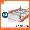 Plataforma galvanizada resistente do engranzamento de fio para a cremalheira da pálete