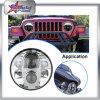 High Power 80W LED faro para Jeep Wrangler Hummer Harley motocicleta de alta baja haz Super brillante jeep faro