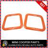 Membre d'un club orange F54 (2PCS/Set) de Mini Cooper de couverture de bordure de mémoire de joncteur réseau de couleur