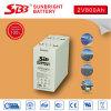 batterie rechargeable de 2V800ah AGM pour l'énergie propre