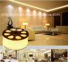 ETL wärmen weiße 3528 Deckenleuchte des LED-Streifen-Licht-5050