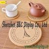Práctico de costa del corcho del té, práctico de costa del corcho del vector, práctico de costa de la cartulina, Placemat con SGS (B&C-G113)