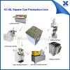 El cuadrado Semi-Auto 18L puede haciendo la cadena de producción de la poder de estaño de la máquina