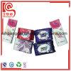 Seitliches Stützblech-Plastikaluminiumfolie-flacher Openning gedruckter Serviette-Beutel