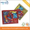 Cadre de papier imprimé coloré personnalisé de cadeau de Noël (QYZ030)
