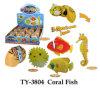 Jouet de corail drôle de poissons
