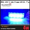 Luz exterior da montagem da superfície das luzes da grade azul do carro