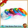 Wristband di gomma del silicone del Rainbow musicale con Thb-050