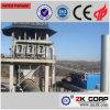Precalentador de la vertical de la cal del horno rotatorio de la eficacia alta