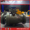Cast Steel Two Piece Flanged Tourillon Ball Valve