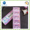 Caja de regalo de papel de empaquetado de la pestaña rosada linda (JP-box023)