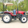 90HP Farm Tractor met Canopy en Paddy Tyres