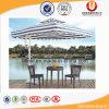 놓이는 정원 등나무 가구 우산 테이블 의자 (UL-A655)