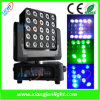 diodo emissor de luz Moving Head Light de 25X10W Matrix para Stage, disco de Parties