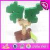 Brinquedos Multi-Function do cérebro para os brinquedos de madeira dos miúdos DIY, brinquedo de madeira relativo à promoção quente do brinquedo DIY para o Natal W03b035