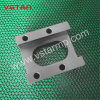 CNC da elevada precisão que faz à máquina a peça do aço inoxidável para a maquinaria do Shoemaking