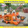Qmr4-45簡単なコンクリートブロックのディーゼル機関の移動式煉瓦機械